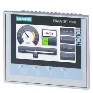 Comprar Hmi Siemens KTP400 Comfort, Comfort Panel, Manejo con teclado/táctil, pantalla TFT widescreen de 4 | Precio: 739,335168€