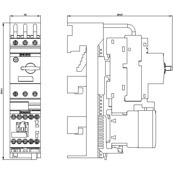 3RA1120-4AC25-0AP0, 3RA2110-4AD18-1AP0