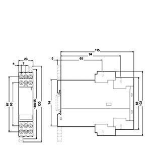 Реле безопасности Siemens 3TK2822-1CB30